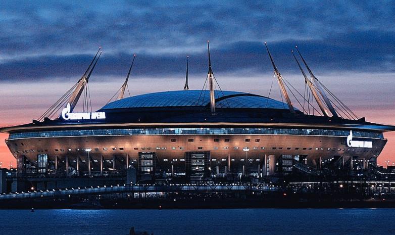 УЕФА подтвердил, что Санкт-Петербург примет финал Лиги чемпионов в 2022 году