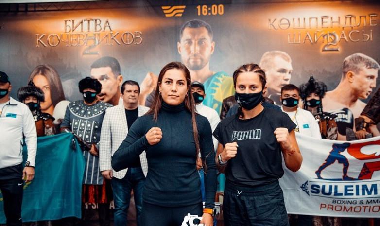 Фируза Шарипова сделала вес перед боем в столице