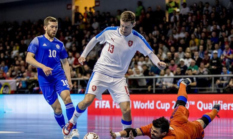 Фоторепортаж с матча Казахстан - Чехия