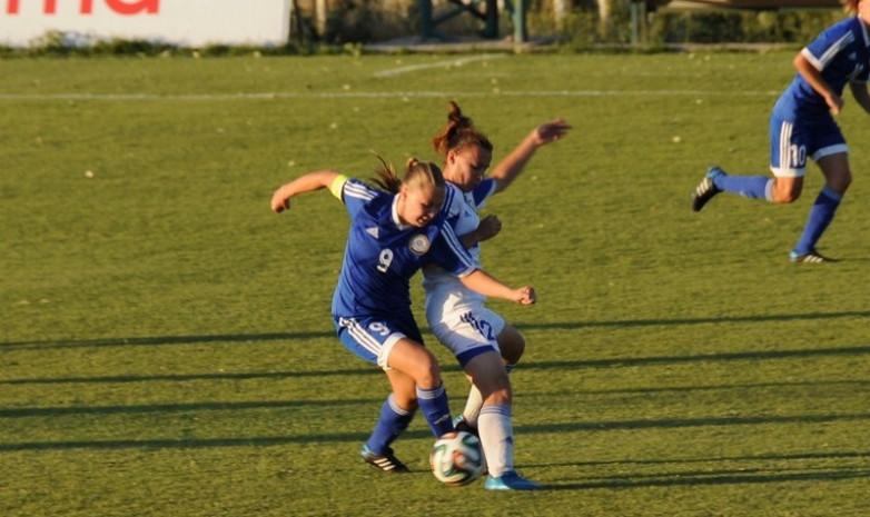 Казахстанские девушки разгромно проиграли сверстницам из Исландии в отборе на Евро