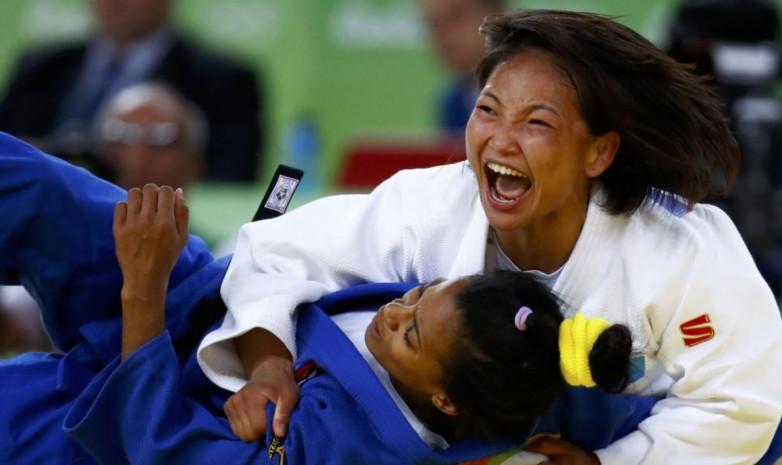 Отгонцецег Галбадрах завоевала бронзу на парижском Grand Slam
