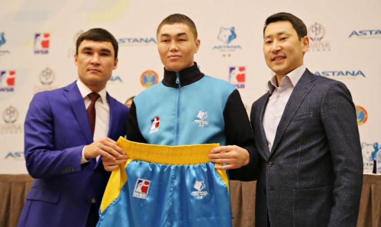 Сапарбай Айдаров нокаутировал противника в дебютном бою на профи-ринге