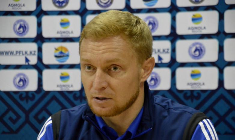 Андрей Карпович: Хочу пожелать «Актобе» поскорее выбраться из этой ситуации