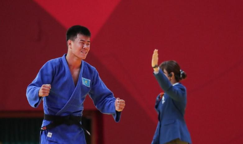 Казахстанский дзюдоист Дидар Хамза стал чемпионом Азиады-2018