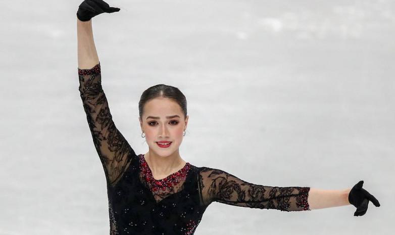 Видео произвольной программы Алины Загитовой в финале Гран-при