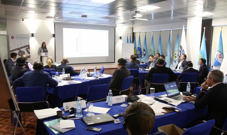 В Казахстане продолжается семинар УЕФА «Футбольный менеджер»