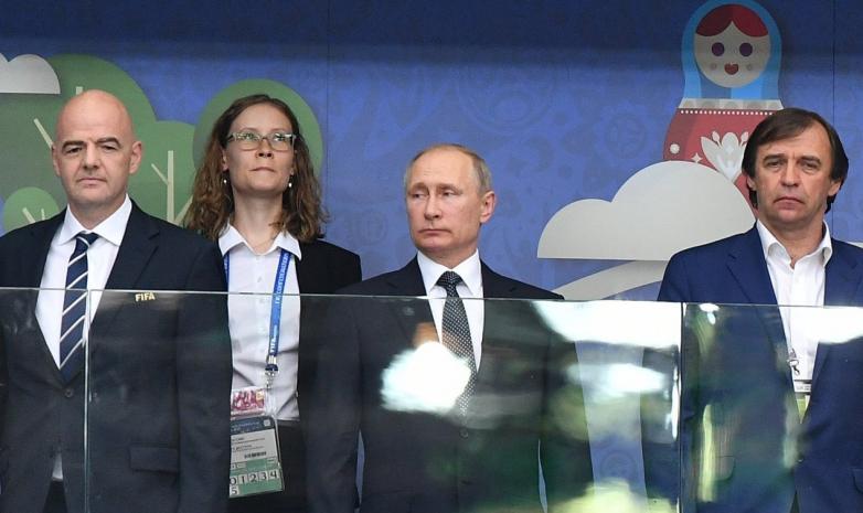 Президент ФИФА сделал подарок Бородюку